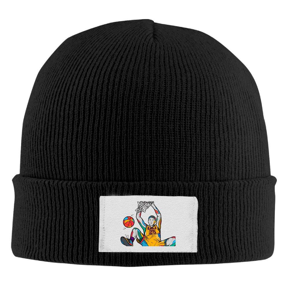 NVVM #25 NO.25 Basketball Player Men & Women Knitted Beanie Cap Hat Ski Cap Hat Black