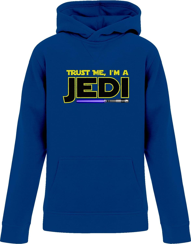 BSW Youth Girls Trust Me Im A Jedi Star Wars Saber Theme Hoodie