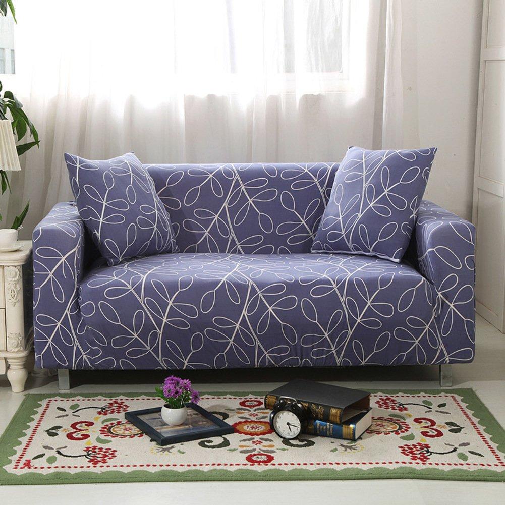 スエードストレッチソファソファーカバー、Slipcovers、家具プロテクター、厚み付けソファーカバーThrow for 1,2,3,4クッションcovers-a 3つシート190 – 230 cm ( 75inch-90inch )   B07C9DR6HX