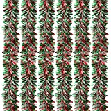 6-Pack Christmas Tinsel Garland Hanging Decoration 55 x 112in (Small Image)