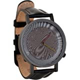 Ever Changing Moire Effect Op Art Unisex Analog Watch