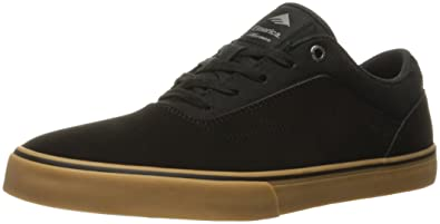 Mens Emerica The Herman G6 Vulc Sneakers Dark Grey/Black DLY30463