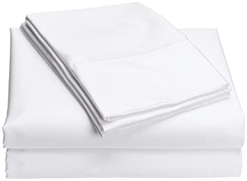 Wamsutta Comfort Soft 400 Thread Count Queen Sheet Set, White