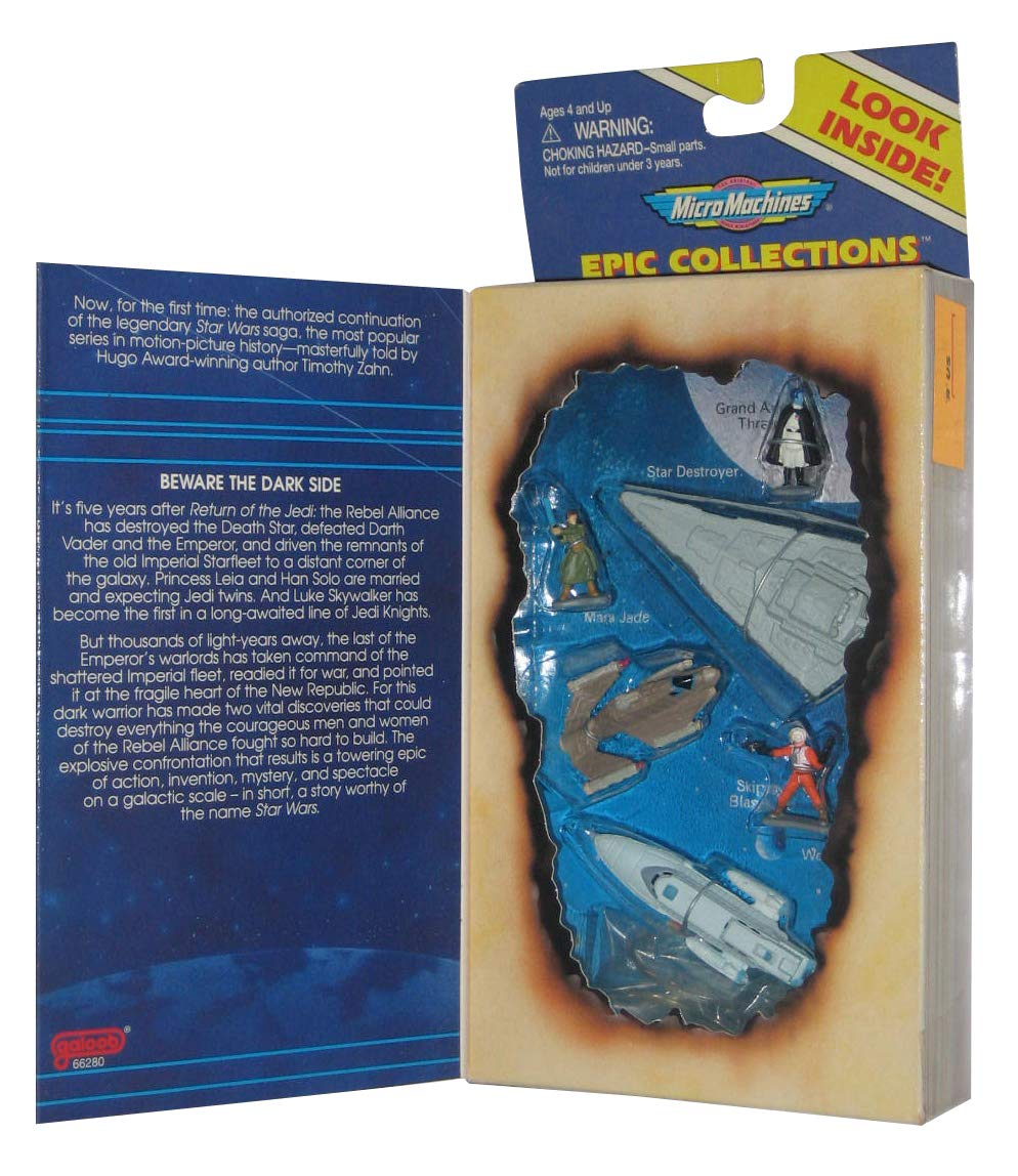 Star Wars Micro Machines Heir to the Empire By Galoob