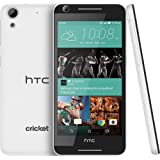 Cricket HTC Desire 625 4G LTE Gsm Smartphone, Android 5.1 Quad core 5-Inch HD 8GB ROM 1.5GB RAM