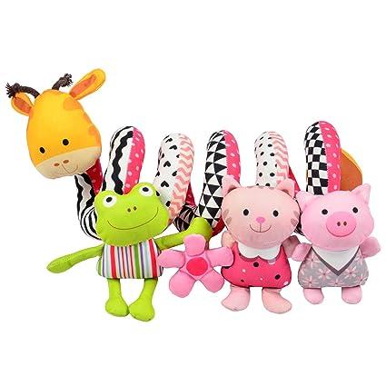 Totmart Graffie Baby Activity Spiral Toy Stroller Bed Hanging Toys Car Seat
