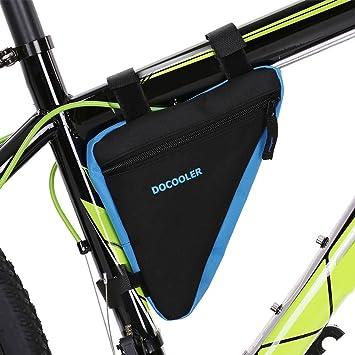 docooler Large Bicycle bag Bike Front Triangle Frame Bag Cycling ...