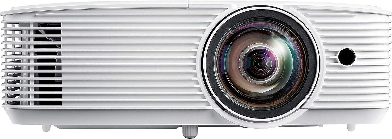 Optoma H116 Dlp Projector Wxga 3800 Lumens 30 000 1 Contrast 1x Hdmi 1x Vga 1x Composite Black Home Cinema Tv Video