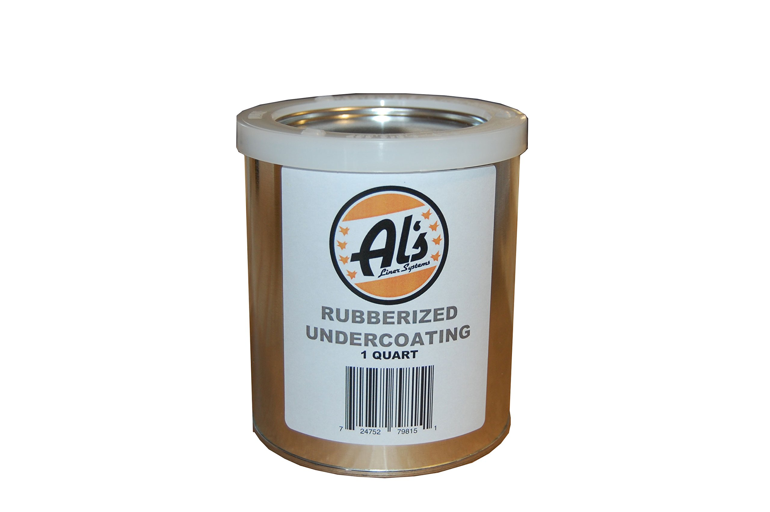 Al's Liner ALS-UCR Premium DIY Rubberized Undercoating, Quart, Black, 32. Fluid_Ounces