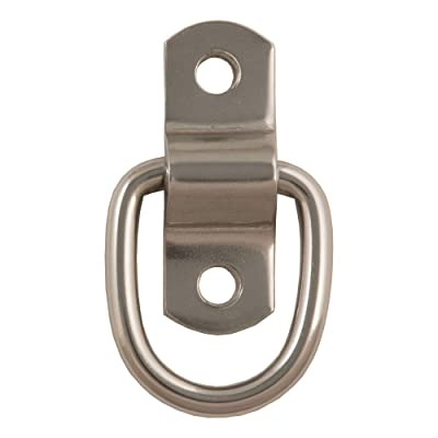 CURT 83732 1-Inch x 1-1/4-Inch Surface-Mounted D-Ring Tie Down Anchors, 1,200 lbs. Break Strength: Automotive