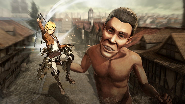 Attack On Titan Playstation 4 Koei Tecmo America Sony Ps4 Corpor Video Games