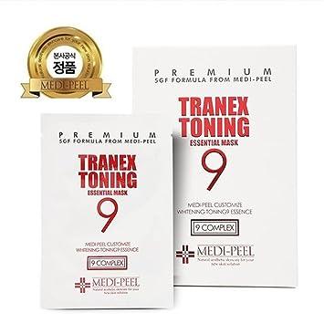 Amazon com: [MEDI-PEEL] Tranex Toning9 Essential Mask 25ml x 10ea