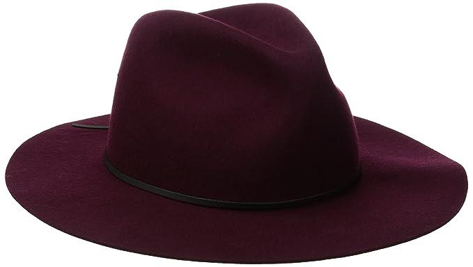 8fbe6c0cbe6e9 Coal Mens The Dex Wide Brimmed Hat Wool Felt Fedora Fedora  Amazon ...