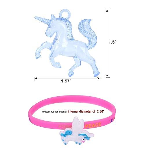 Amazon.com: Paquete de 36 unicornios para fiestas, collar ...
