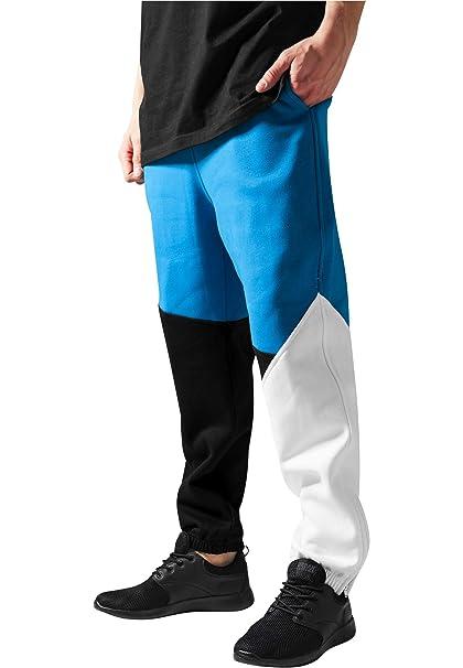 Urban Classics Hombres Pantalones De Jogging Zig Zag Pantalón ...