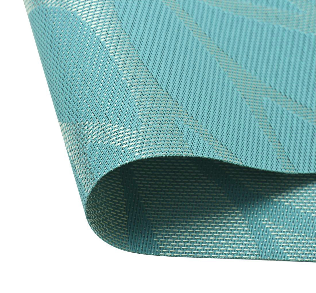 Tennove Placemats Set Of 6 Woven Vinyl Table Mats Pvc