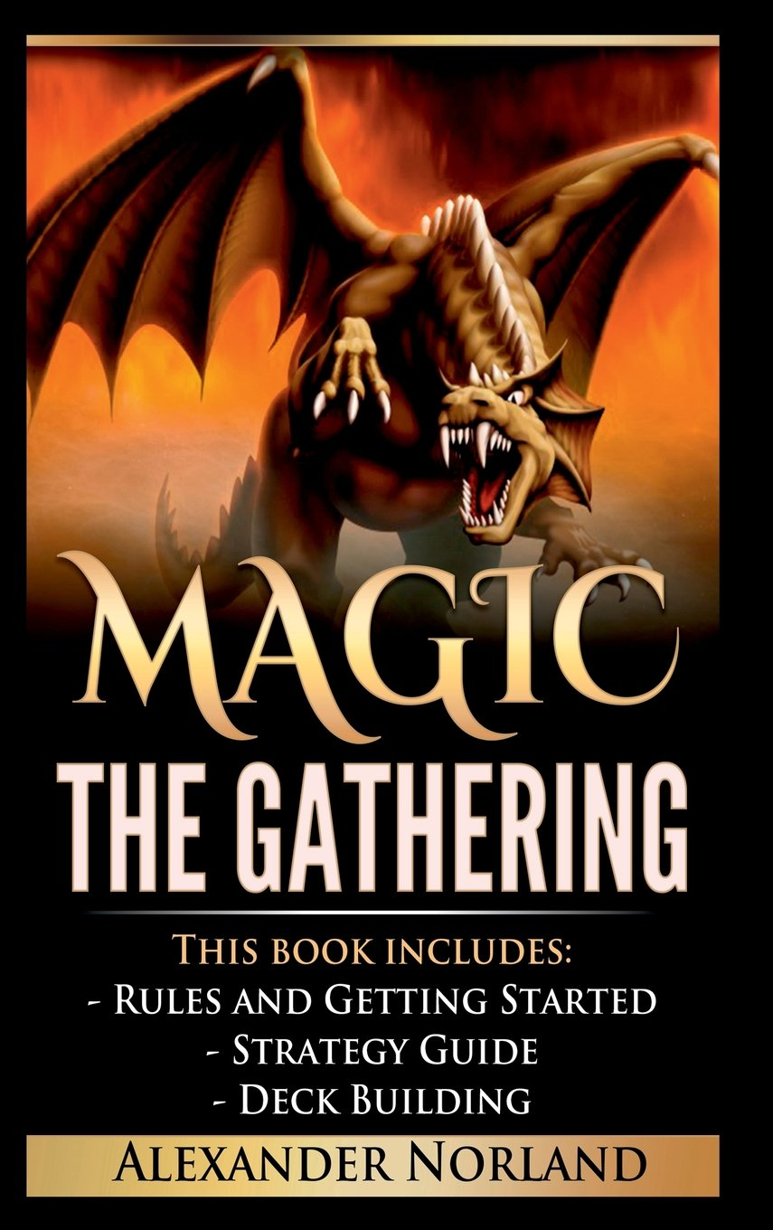 Magic The Gathering: Rules and Getting Started, Strategy Guide, Deck Building For Beginners (MTG, Deck Building, Strategy) by Lulu.com (Image #1)