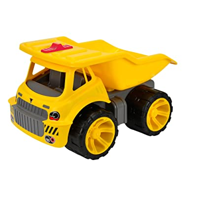 BIG Power Worker Maxi Dump Truck Vehicle: Toys & Games