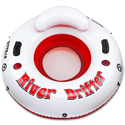 Pittman Outdoors PPI RD1 River Drifter 1-Man Inflatable Water Float Tube: Automotive