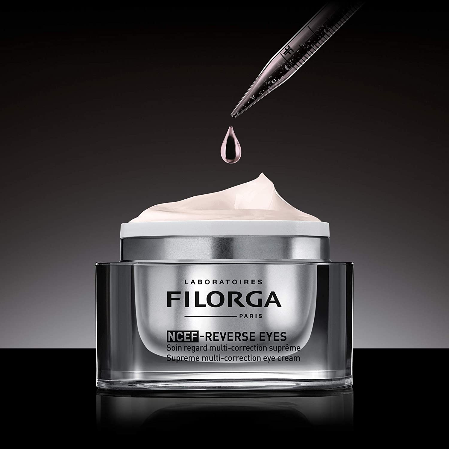 Amazon.com: Laboratoires Filorga Paris NCEF-Reverse Eyes Supreme  Multi-Correction Anti Aging Eye Cream, 0.5 Fl Oz: Premium Beauty