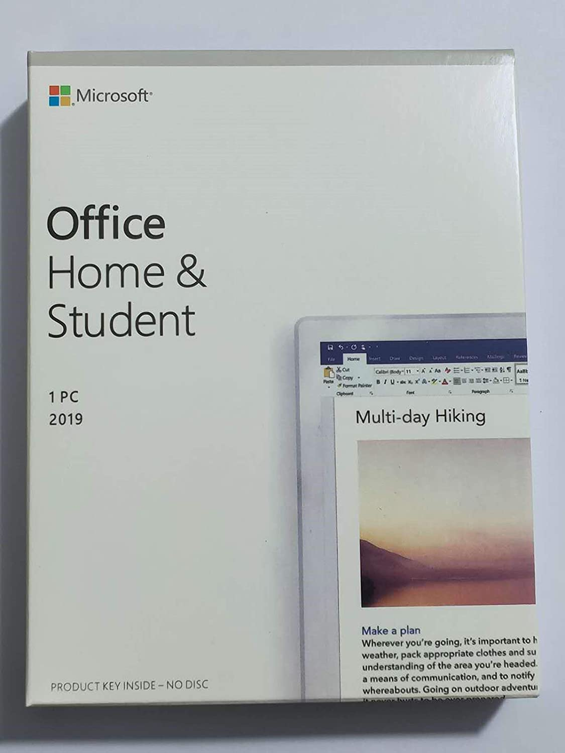 Office Home & Student 2019 Only PC Windows | New | English | Lifetime license