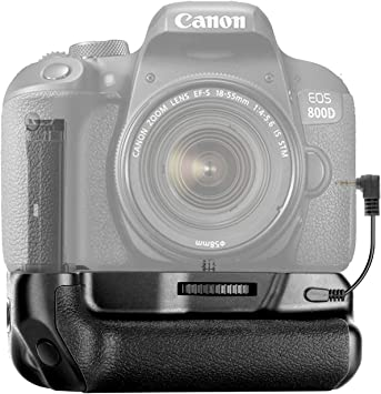9000D X9i T7I DSTE 77D Impugnatura supplementare verticale per fotocamera Canon EOS 800D
