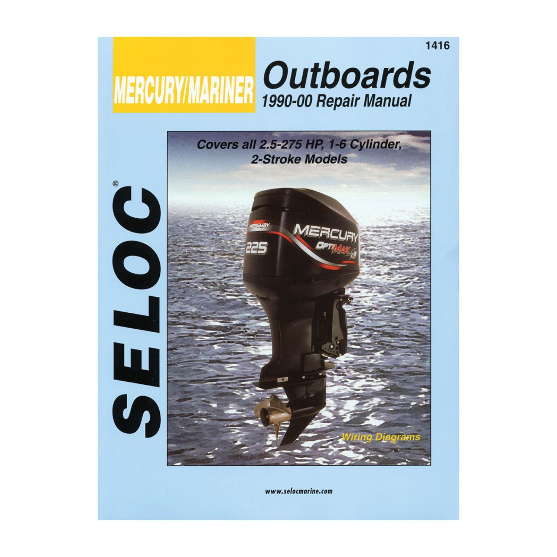 Amazon.com : Seloc Service Manual - Mercury/Mariner - 2 Stroke - 1990-00 :  Boating Equipment : Sports & Outdoors