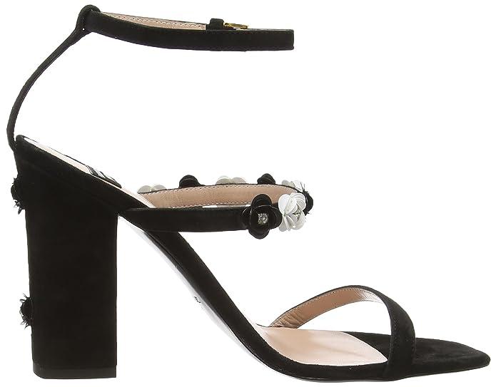 Boutique Moschino Damen 6307 8006 None Sandalen, Schwarz (Schwarz), 39 EU:  Amazon.de: Schuhe & Handtaschen