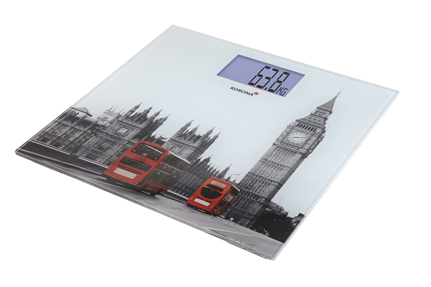 Amazon.com: Korona Londa 73120 Personal Scales with London Bus Motif by KORONA: Health & Personal Care