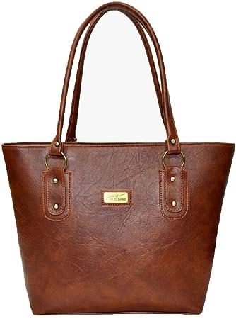 Buy Utsukushii Women's Brown Handbag Online at Low Prices in India ...