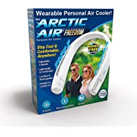 Ontel Arctic Air Freedom Portable Personal Air Cooler and Personal 3-Speed Neck Fan, Hands-Free Light-weight Design…