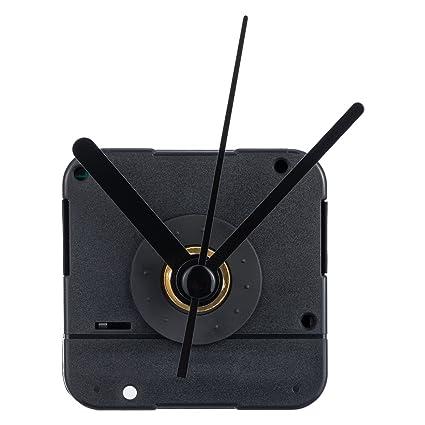 4//5 de pulgada de espesor de dial máxima 1-1//5 de pulgada total Eje largo movimiento del reloj