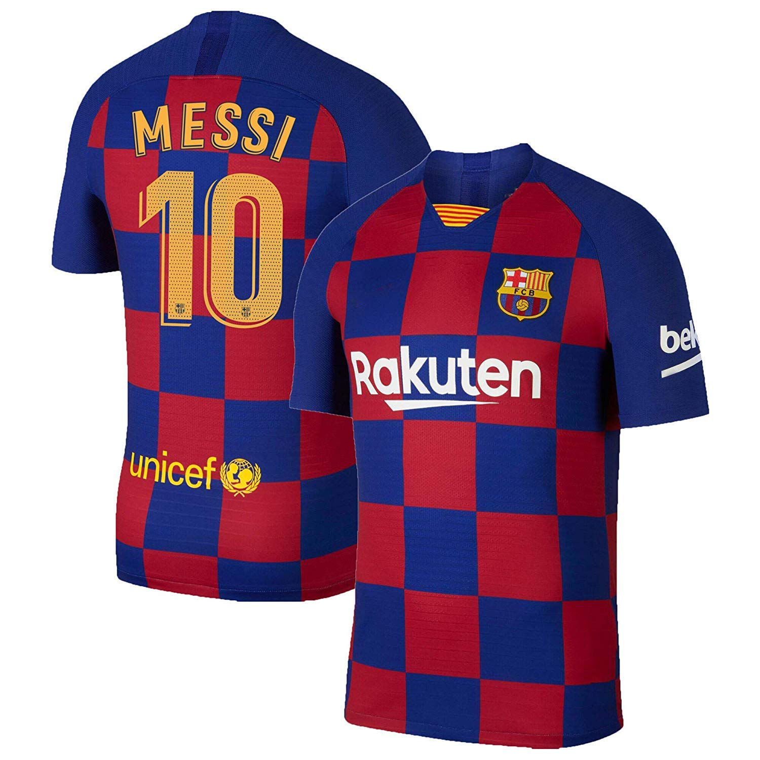 new styles 7b3dd 8b3cd Buy aaDDa Sports Barcelona Messi Printed Jersey 2019-2020 ...