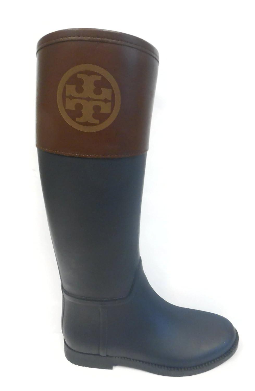 7fb680cd40d8 cheap Tory Burch Women s Classic Rain Boot in Navy Almond ...
