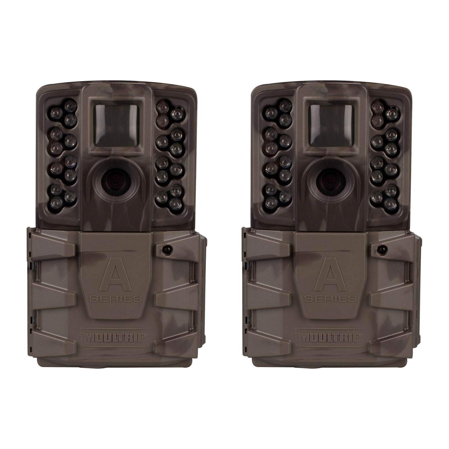 Moultrie A-40 Pro 14MP Low Glow Infrared Game Camera (2 Pack) by Moultrie
