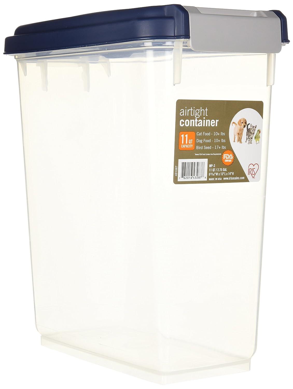 Pet Supplies Iris Airtight Food Storage Container 11 Quart Pet