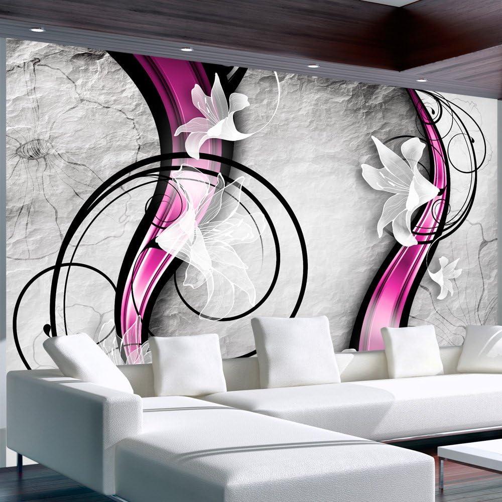murando Papier peint intiss/é 100x70 cm D/écoration Murale XXL Poster Tableaux Muraux Tapisserie Photo Trompe loeil Fleurs 10110906-85