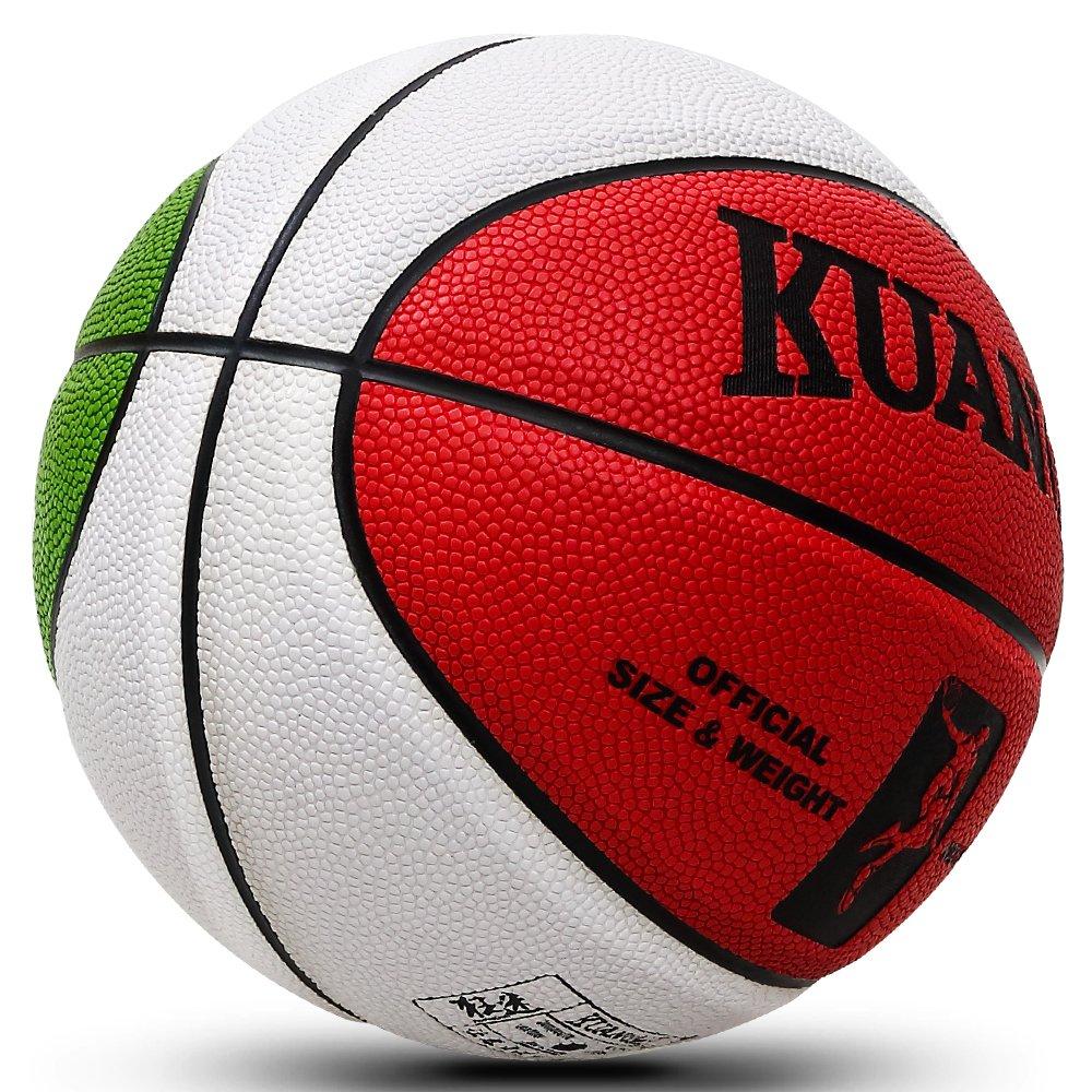 Kuangmi balón de Baloncesto al Aire Libre Interior tamaño 5 para ...