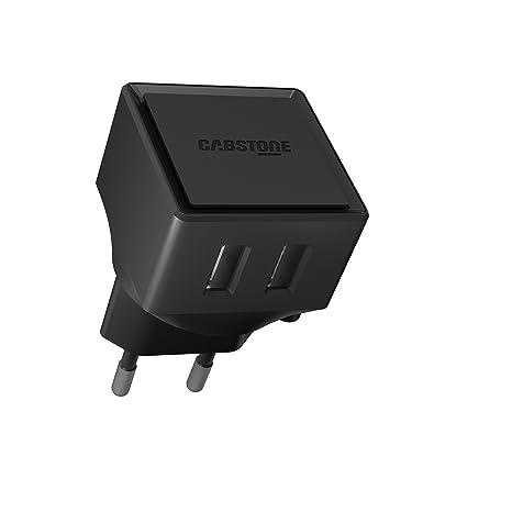 Cabstone Smart IC - Cargador de corriente USB con 2 puertos ...