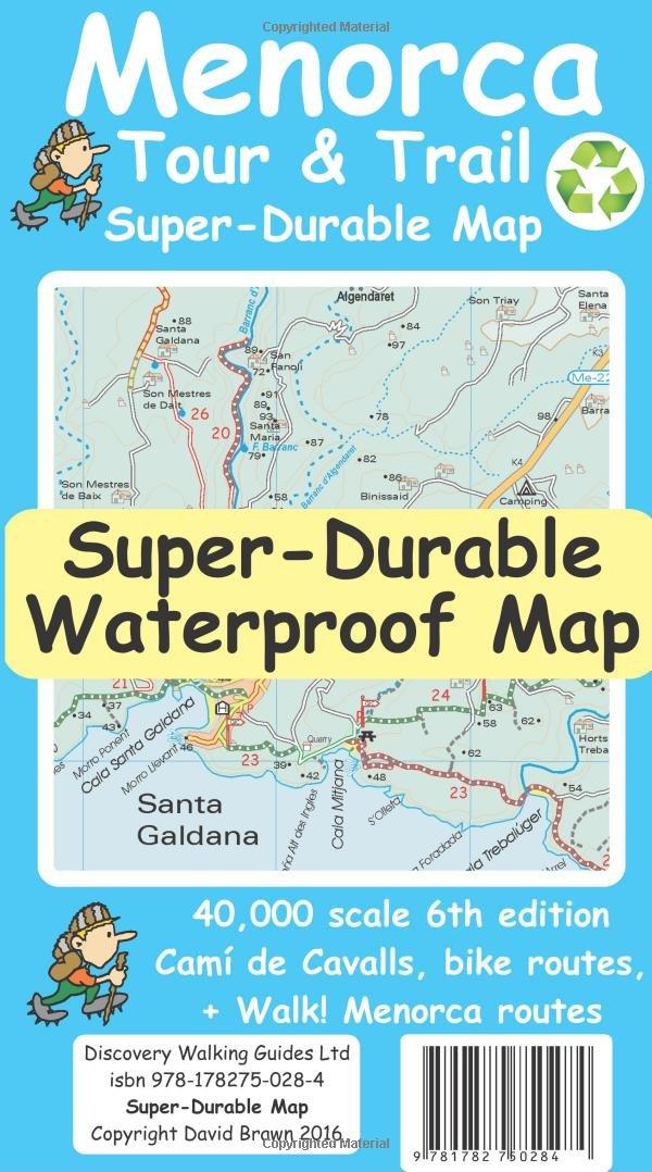 Menorca Tour & Trail Super-Durable Map (Tour & Trail Super-Durable Maps)