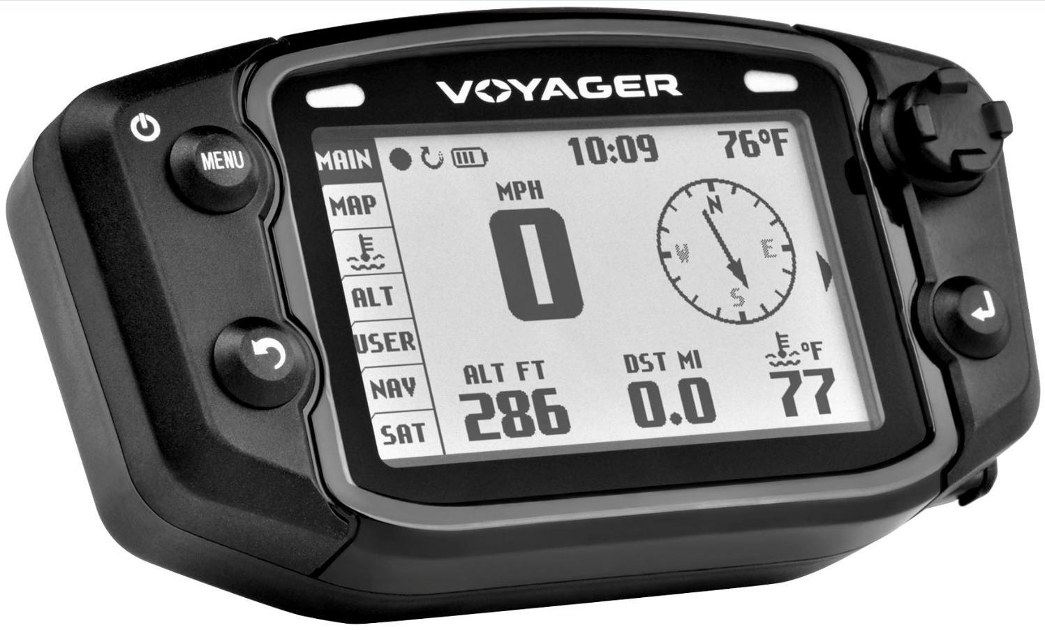 Trail Tech 912-2011 Voyager Stealth Black Moto-GPS Computer by Trail Tech