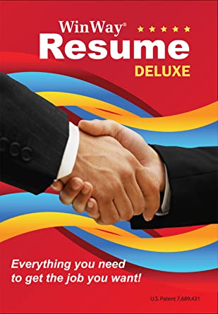 Wonderful WinWay Resume Deluxe 14 [Download] Idea Winway Resume Deluxe