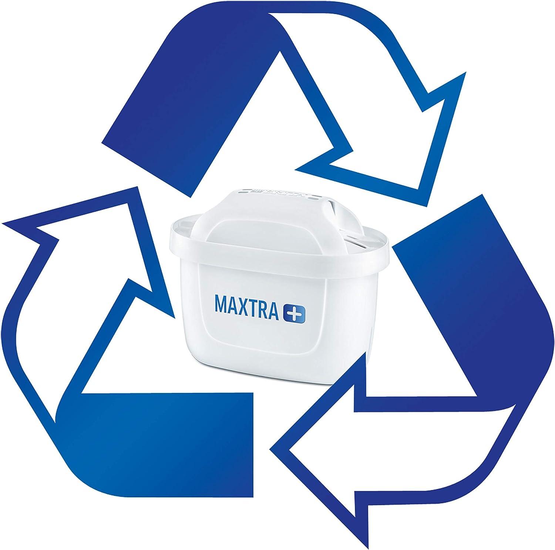 Lot de 6 Blanc Plastique BRITA Maxtra Cartouches pour Filtre /à Eau Blanc