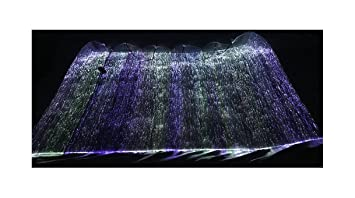 Bon RGB LED Light Up Fiber Optic Fabric Material To Make Luminous Clothing  Tablecloth (100cm X