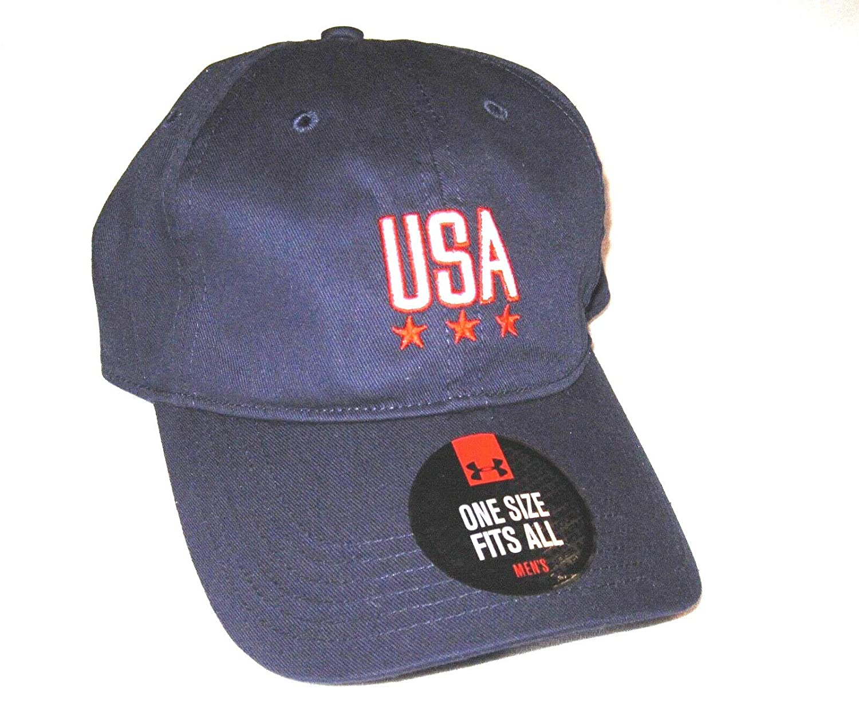 9f473fc261 Amazon.com: Under Armour UA Freedom Logo USA Patriotic Pride Cap ...