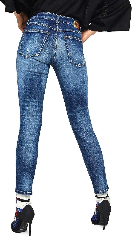 Diesel Jeans Donna 00S7LX069FY Blu Chiaro AI19