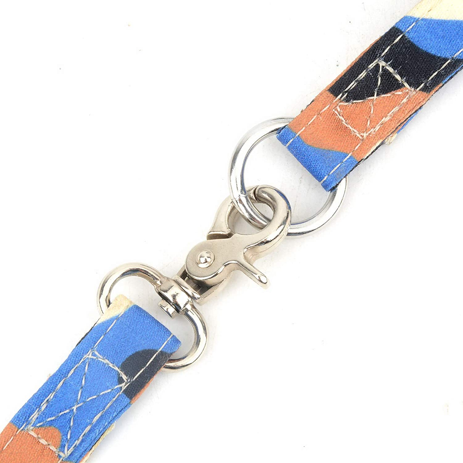 smalllee/_lucky/_store New Soft Mesh Nylon Vest Pet Cat Small Dog Harness Dog Leash Set Leads Camo Blue S