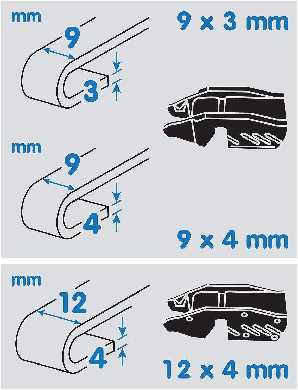70 cm Lampa 95159 Wipemax Spazzola tergicristallo per Camion e furgoni 28