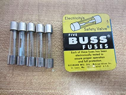 Bussmann Agc 30 Buss Fuse 30a 32v Agc30 Pack Of 5 Amazon Com Industrial Scientific