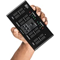 OSL M4-3 Channel Compact Audio Mixer with Bluetooth, USB & Echo FX for Singers, Musicians, and Educational/Commercial Venues.